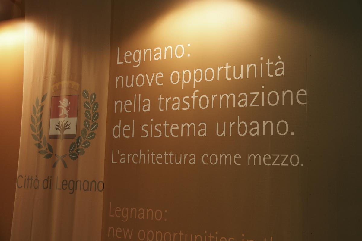Allestimento stand fieristico per il Comune di Legnano