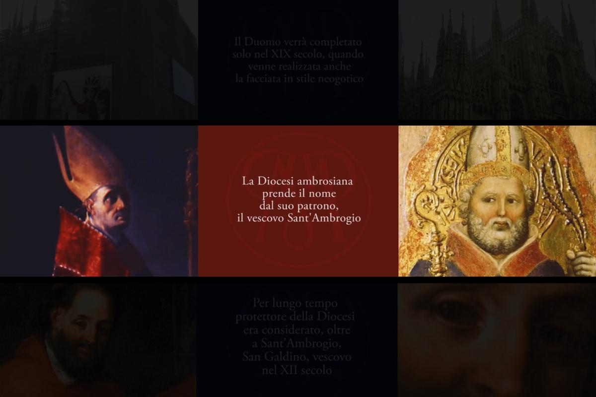 Multivisione al Museo Diocesano di Milano